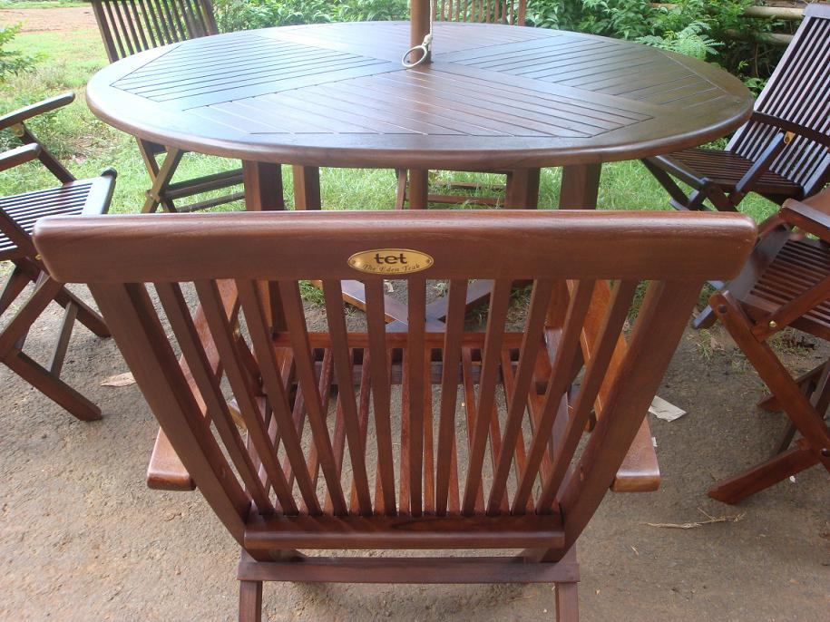 The Eden Teak. The Eden Teak  a range of high quality garden furniture by Portibi